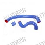 Komplet rur silikonowych turbo i intercooler 2,7 diesel V6 Discovery 3 / Discovery 4 / RR Sport (niebieskie)