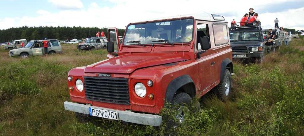 O zakupie pierwszego Land Rovera słów parę... , cz. II
