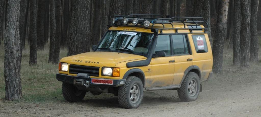O zakupie pierwszego Land Rovera słów parę... , cz. I