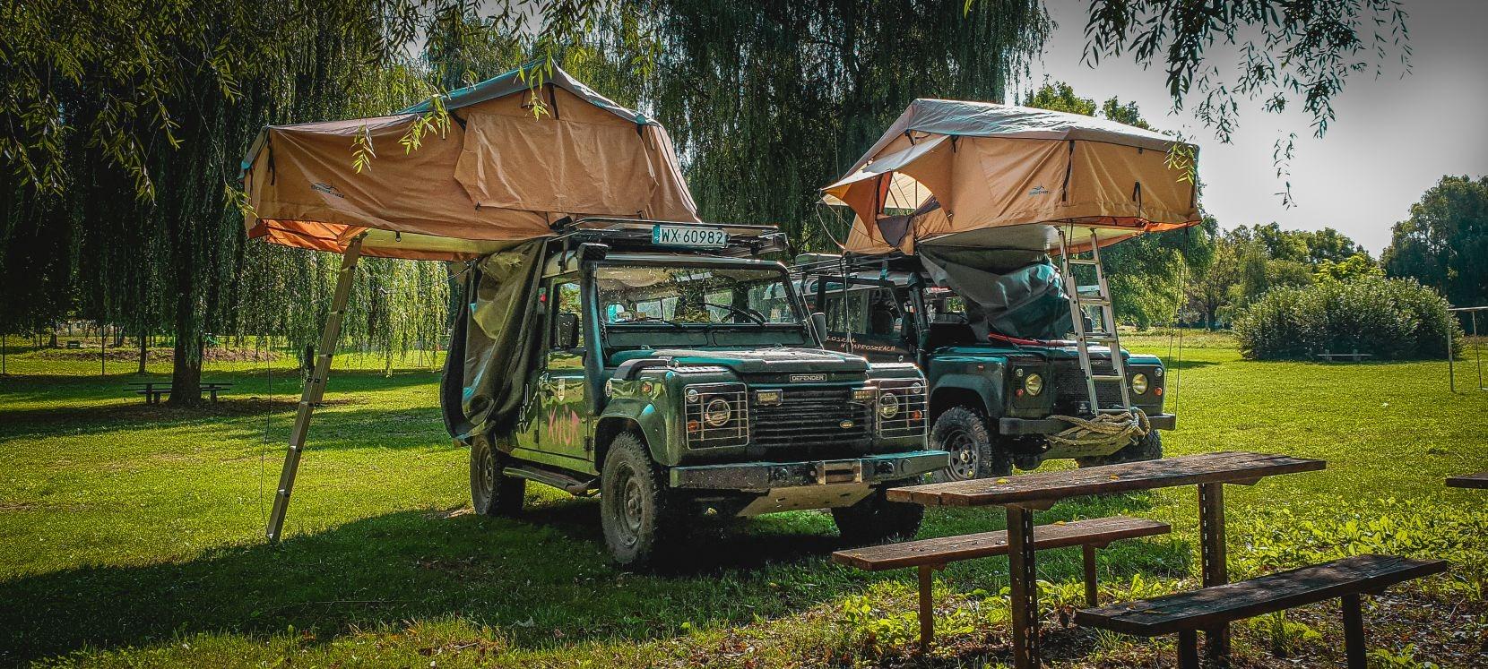 Namiot dachowy lepszy od naziemnego?